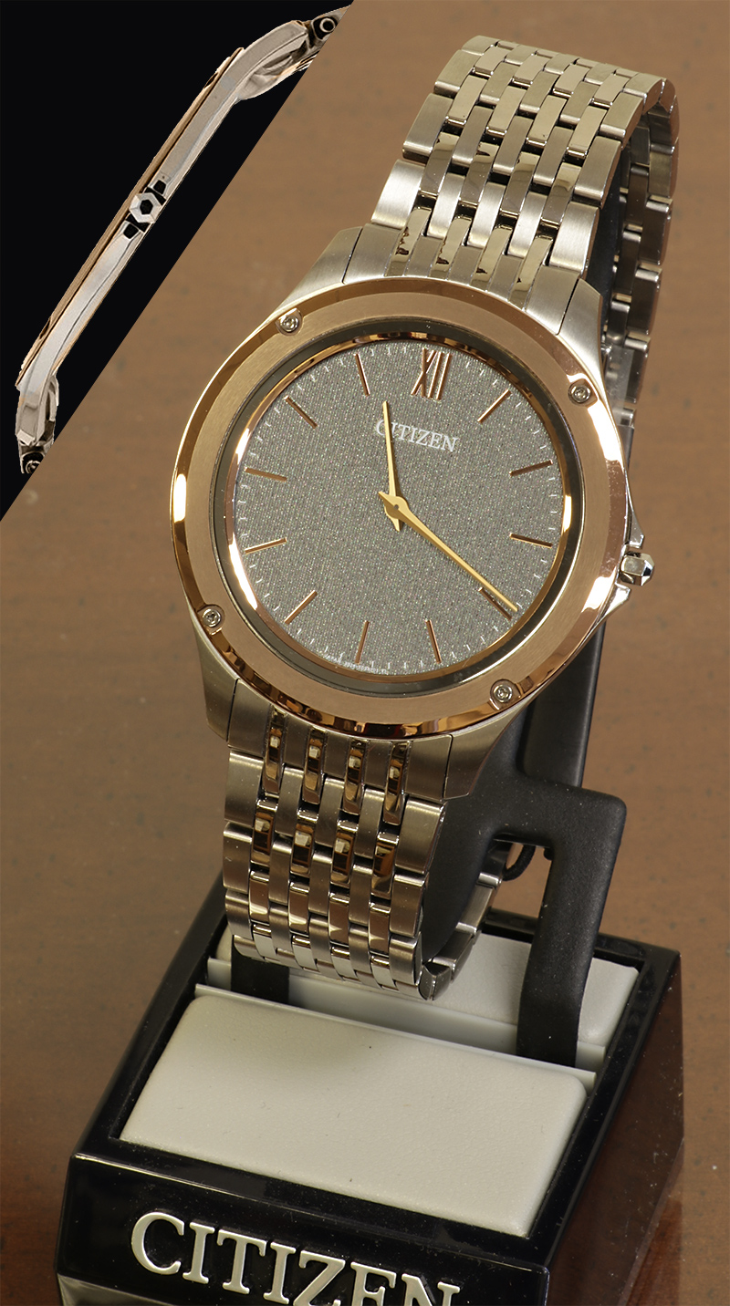 Citizen Ultra Thin Men's Eco Drive